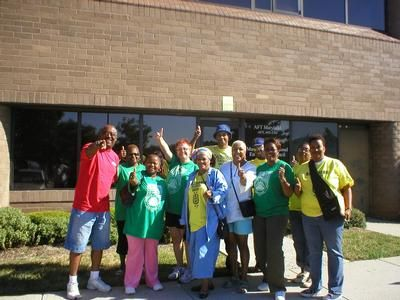 """AFT-Maryland affiliate members prepare to """"Get Out the Vote"""""""
