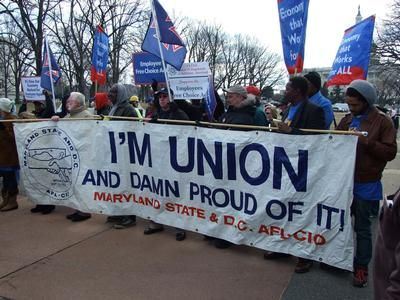 AFT-Maryland joins AFL-CIO unions on Capitol Hill